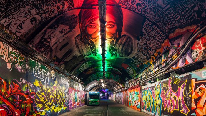 Leake Street Arches, LCR