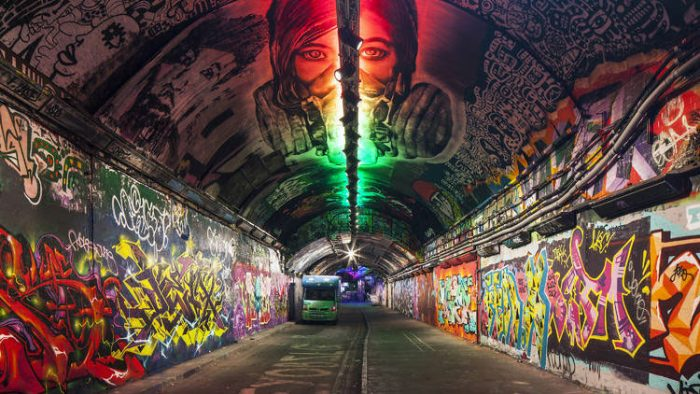 Leake Street Arches, London & Continental Railways