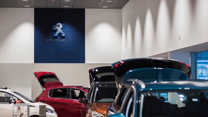 Wilsons, Peugeot Garage, Epsom