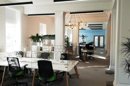 Rothamstead Research Russell Building office spaces