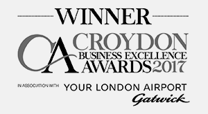 Winner Croydon Business Excellence Awards 2017